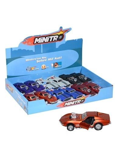 Birlik Oyuncak Fy6238-12D 1:36 Minitro 1:36 Metal Çek Bırak Corvette Dodge Renkli